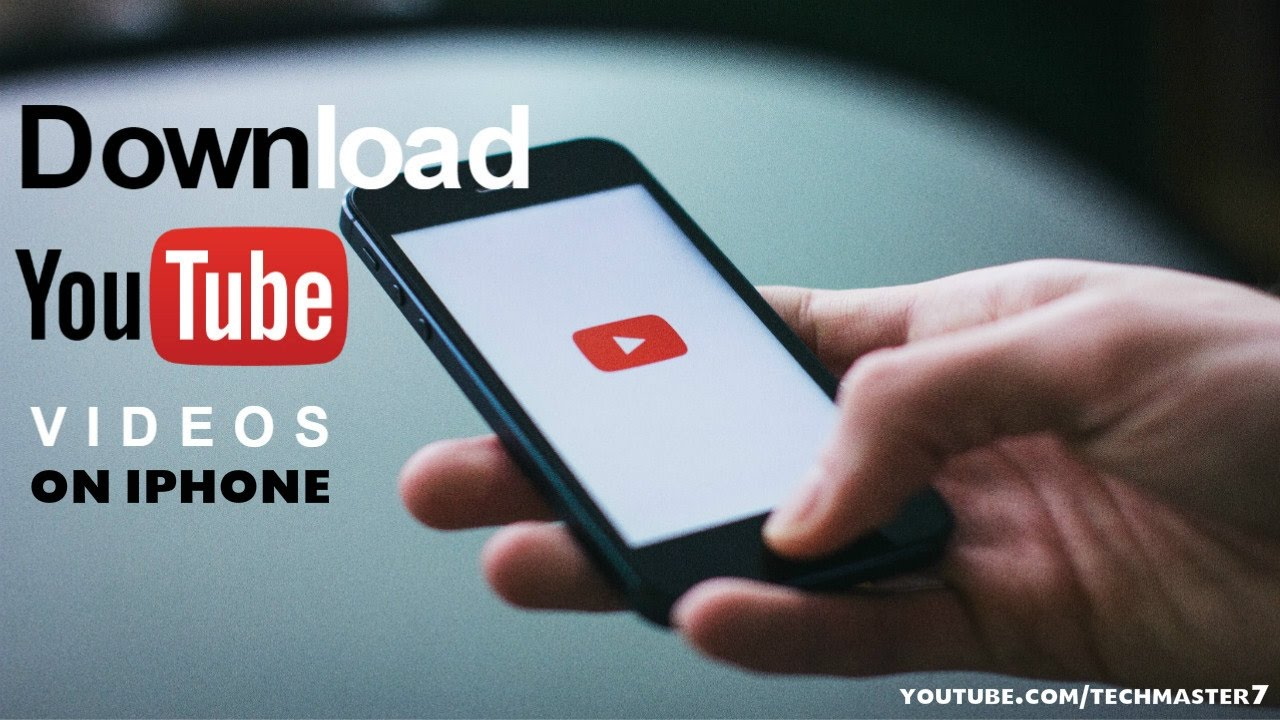 download youtube video to iphone 7