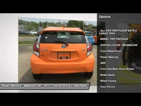 2017 Toyota Prius C Smart Motors Madison Wisconsin 284680