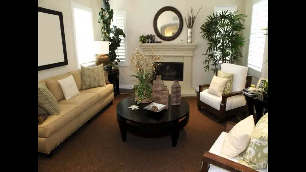 Long narrow living room layout ideas youtube for Living room arrangement for small space