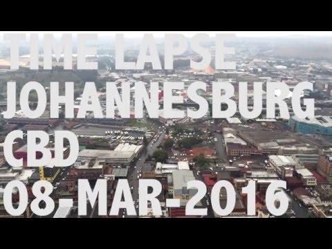 Johannesburg Time Lapse - Streets of Joburg
