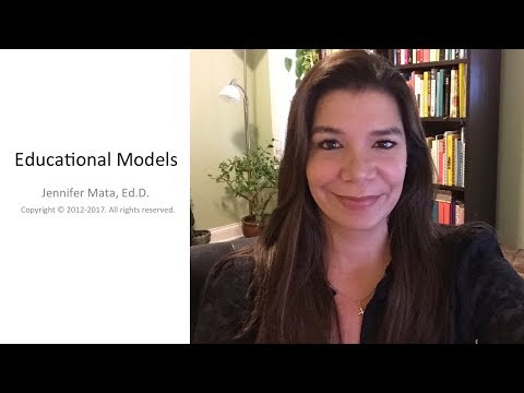 What Are Educational Models?