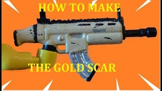 How To Make The Fortnite Gold Scar For Your Lego Minifigs