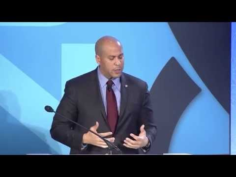 Senator Cory Booker at the 2015 National Opportunity Summit