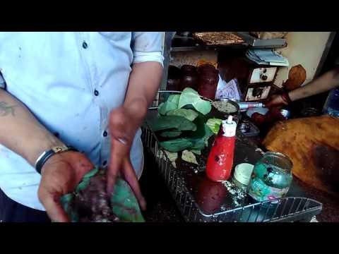 Kadak pan in dader(mumbai) tambul pan shop
