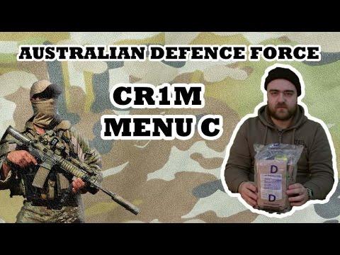 Australian Defence Force Combat Ration One Man (MENU D)
