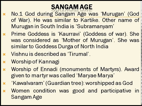 SANGAM AGE | POST GUPTA AGE | ANCIENT HISTORY OF INDIA | TAMIL LITERATURE | UPSC | ssc cgl | ias |