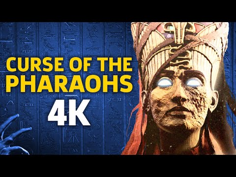 30 Minutes of 4K Assassin's Creed: Origins - The Curse of the Pharaohs DLC Gameplay