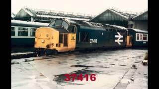 BRITISH RAIL CLASS 37