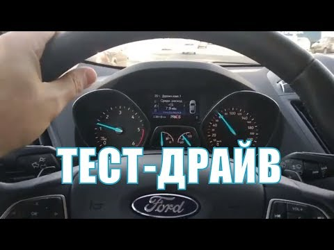 Новый Ford Kuga  Business 1.5 Duratorq TDCi на мокром PowerShift. Тест-драйв-2019