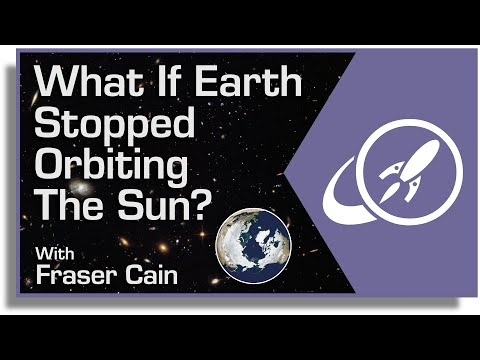What if Earth Stopped Orbiting the Sun?