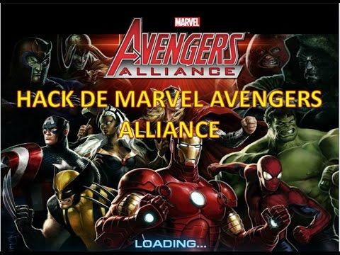 TRAINER Y HACK DE MARVEL AVENGERS ALLIANCE #2