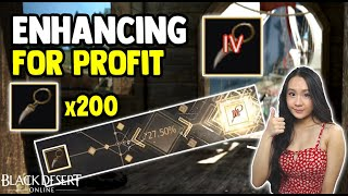 BDO - 200 Narc Earrings To TET - Enhancing Accessories For Profit - Black Desert Online