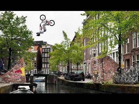 BMX Backflip over Amsterdam Canal - Red Bull Framed Reactions - TEASER