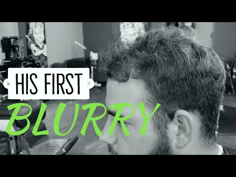 He Didn't Know His Fade could be BLURRY! Crazy Barber Tutorial HD