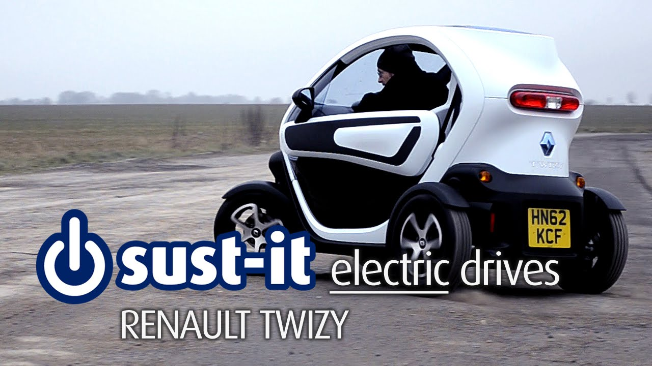 sust it road test the renault twizy electric car youtube. Black Bedroom Furniture Sets. Home Design Ideas