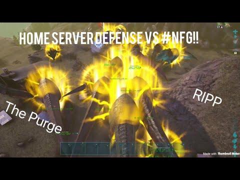 Ark Xbox Official PvP Defense vs #NFG!!