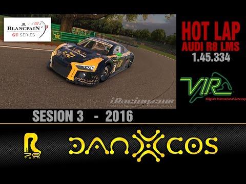 Iracing Hotlap // Audi R8 LMS // VIRginia