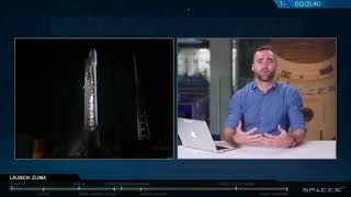 SpaceX Falcon 9 / Zuma launch webcast