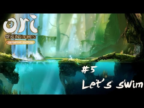 Ori and The Blind Forest Definitive Edition #5 | Let's swim | English Gameplay