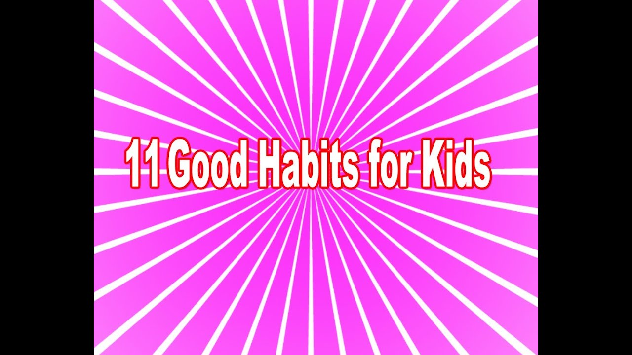 essay on good habits for class 3