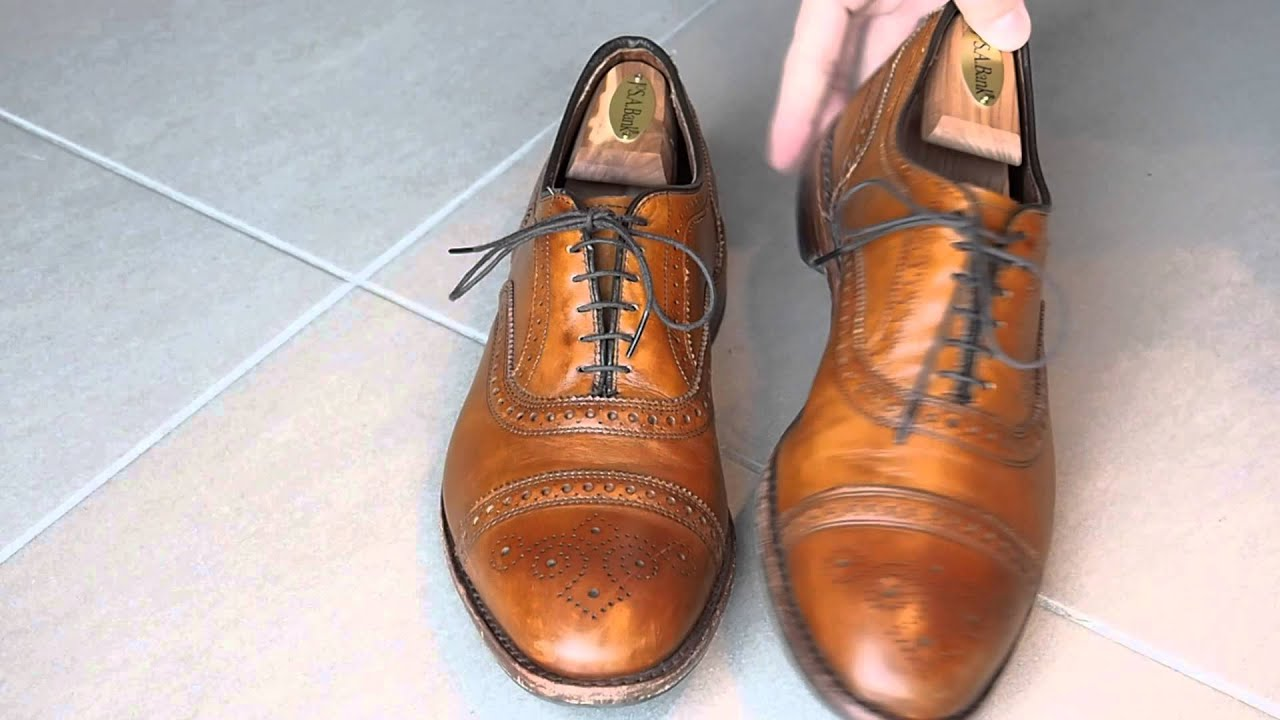 allen edmonds strand shoe review 2 years later youtube