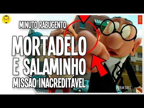Trailer do filme Mortadelo e Salaminho: Missão Inacreditável