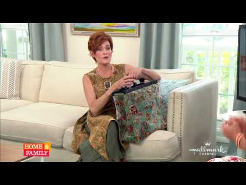 Carolyn Hennesy on Home and Family discussing Alert Drops