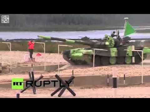 Đua Xe Tăng Quốc Tế Tại Nga 2015 - Clip 1