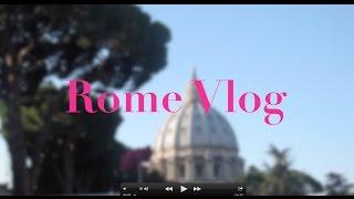 Rome Vlog Thumbnail