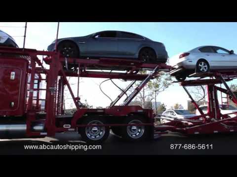 ABC Auto Shipping Promo