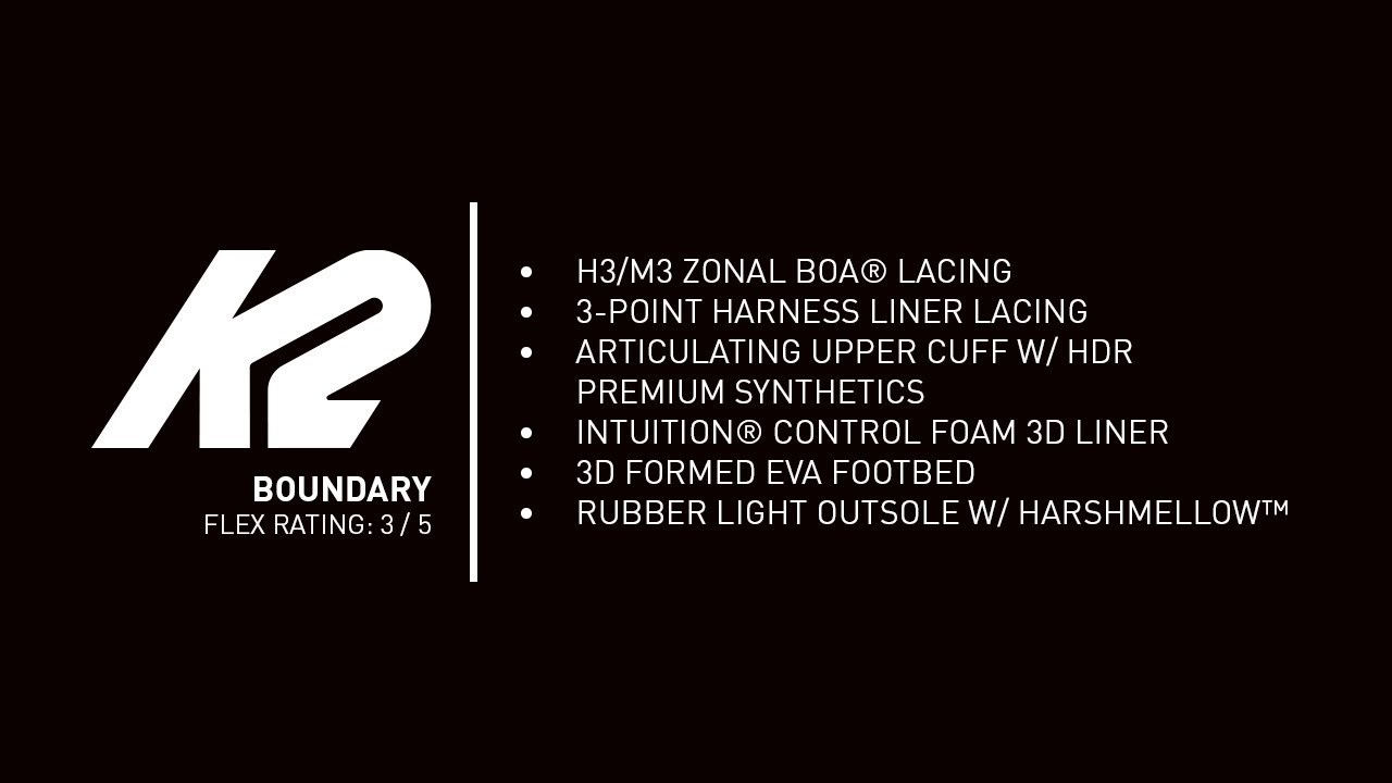 K2 Boundary Boot | 2020 Snowboard Boots