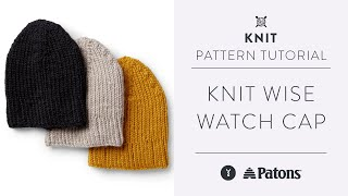 How To Knit A Hat   Featuring The Twisted Knit Stitch And Ribbing   Pattern Video Tutorial
