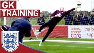 Repeat youtube video Joe Hart & goalie reactions training | Inside Training