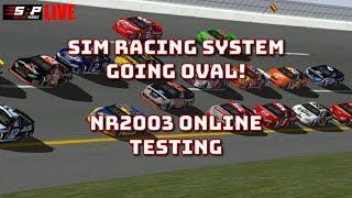 NASCAR Racing 2003 - Testing Sim Racing System ONLINE!