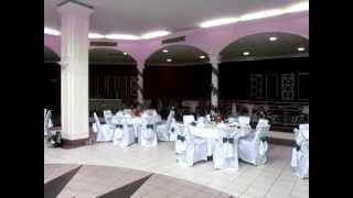 Оформление банкетного зала г.Пулковская)на свадьбу.