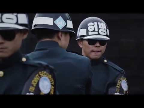 [국방부] 공동경비구역 (JSA) 경비대대 권총사격 훈련 (K-5권총 발사장면 고속촬영)