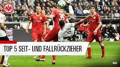 Die Top 5 Seit- und Fallrückziehertore von Eintracht Frankfurt