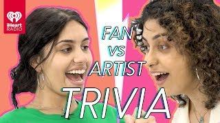 Alessia Cara Challenges Super Fan In Trivia Battle | Fan Vs. Artist Trivia