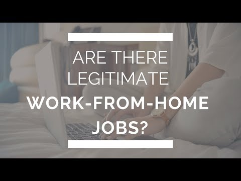 Are there legitimate work-from-home jobs?