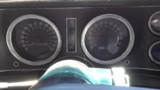 72 Camaro tach working