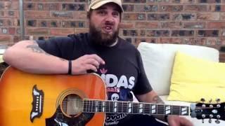 The Housemartins-Caravan of Love-Acoustic Guitar Lesson.