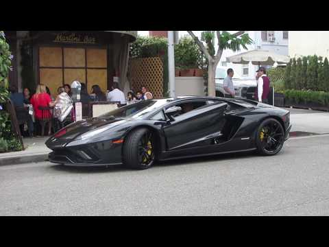 Lamborghini Aventador S In Beverly Hills (w/ Startup)
