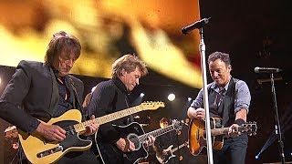 bon jovi bruce springsteen who says you cant go home 2012 live