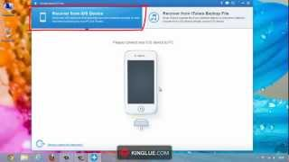 How to Recover Call History directly from iPhone 5S/5C/5 iOS 6/7 without iTunes backup?