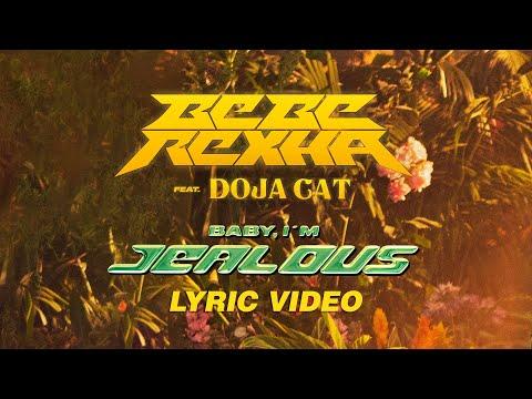 youtube filmek - Bebe Rexha - Baby, I'm Jealous (ft. Doja Cat) [Official Lyric Video]