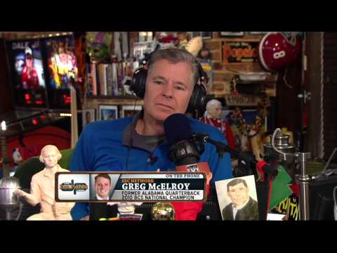 Greg McElroy on The Dan Patrick Show (Full Interview) 12/01/2014
