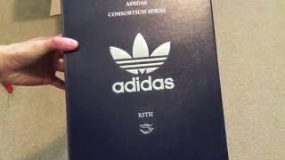 Kith x Adidas Consortium Tubular Doom Sneaker Unboxing
