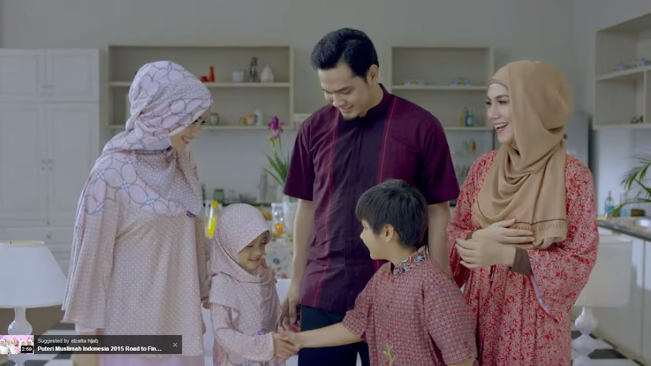 Elzatta Pesona Hijab Indonesia TVC Terbaru 2015 YouTube