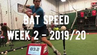 Bat Speed Recon | Week 2 Bat Speed '19/'20