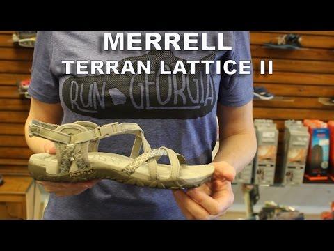 104a95d57eb3 Merrell Terran Lattice II - YouTube